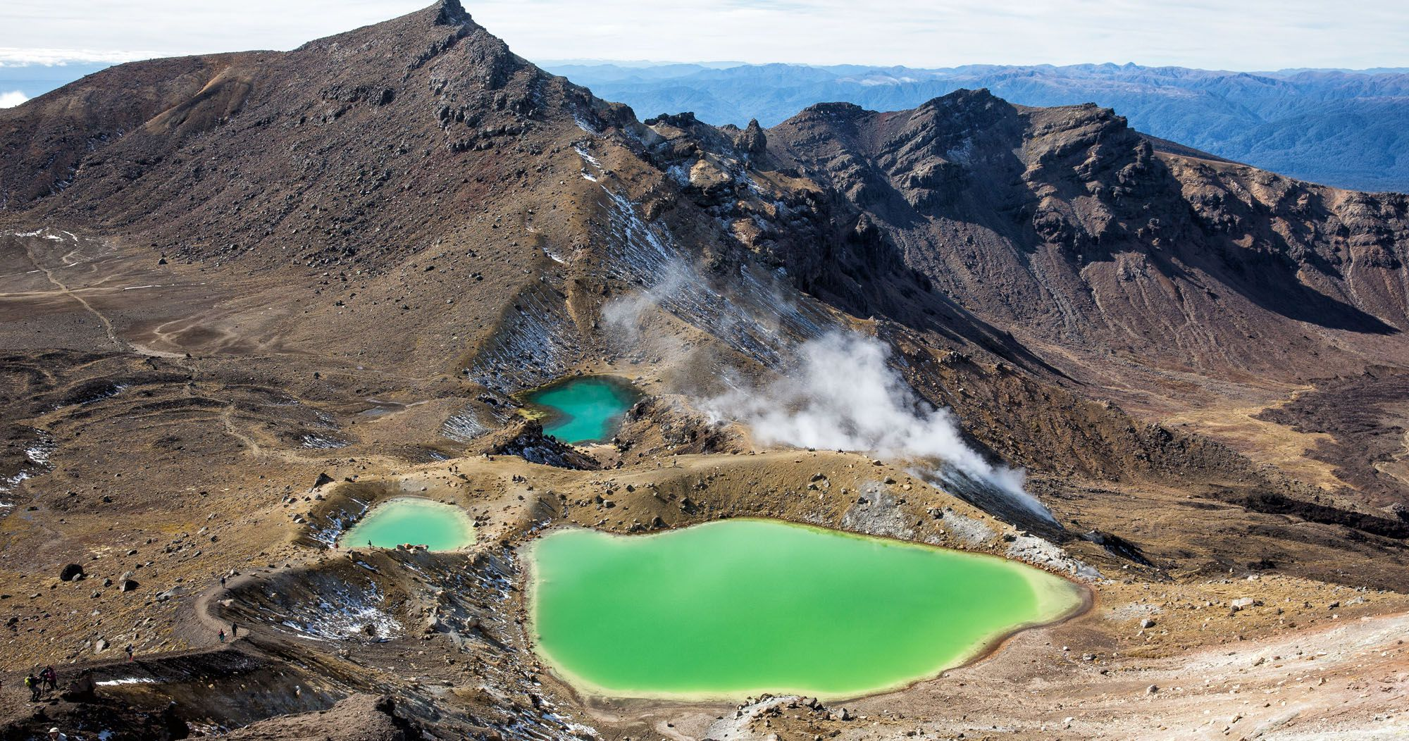 How difficult is Tongariro crossing