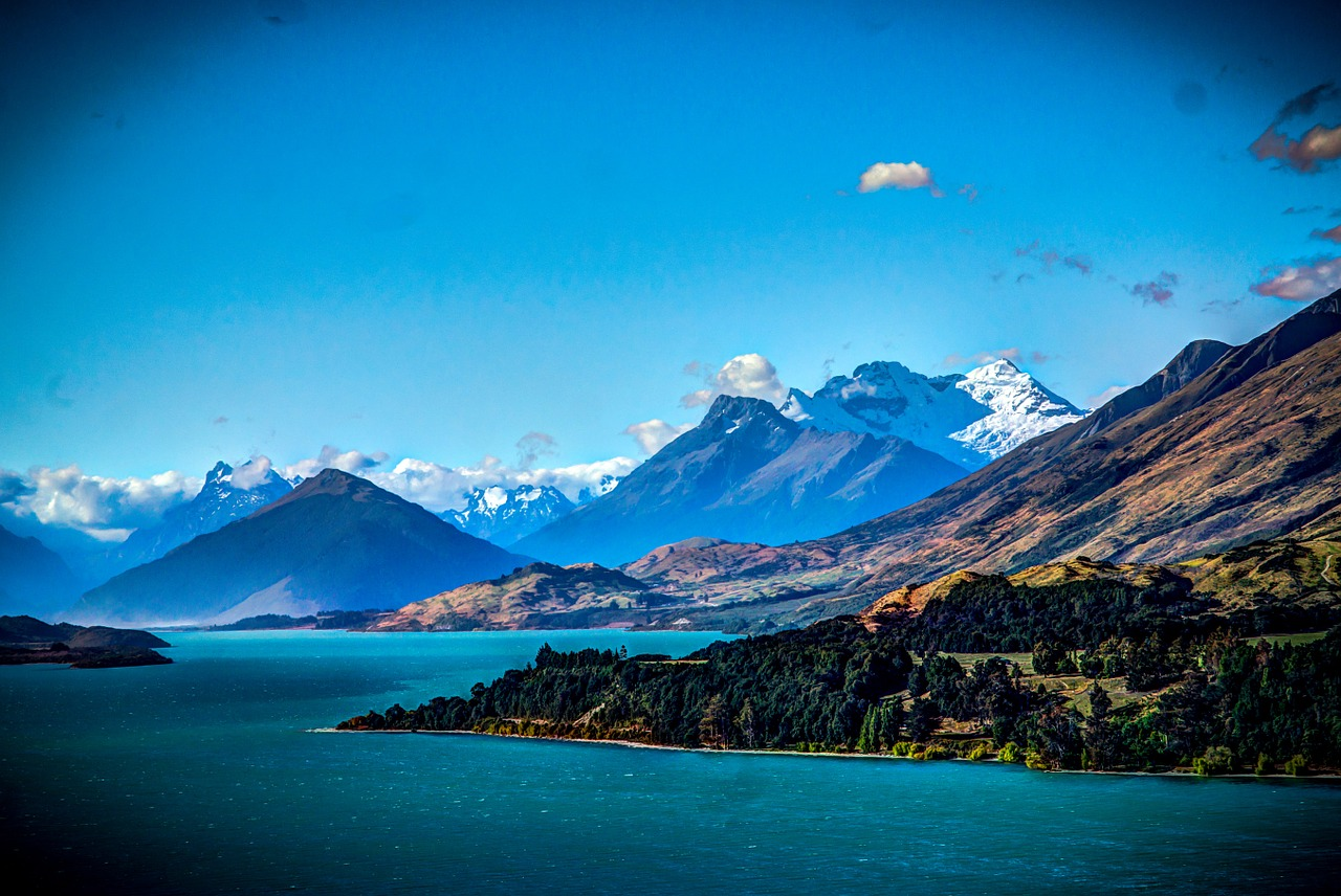 million dollar view, queenstown, new zealand